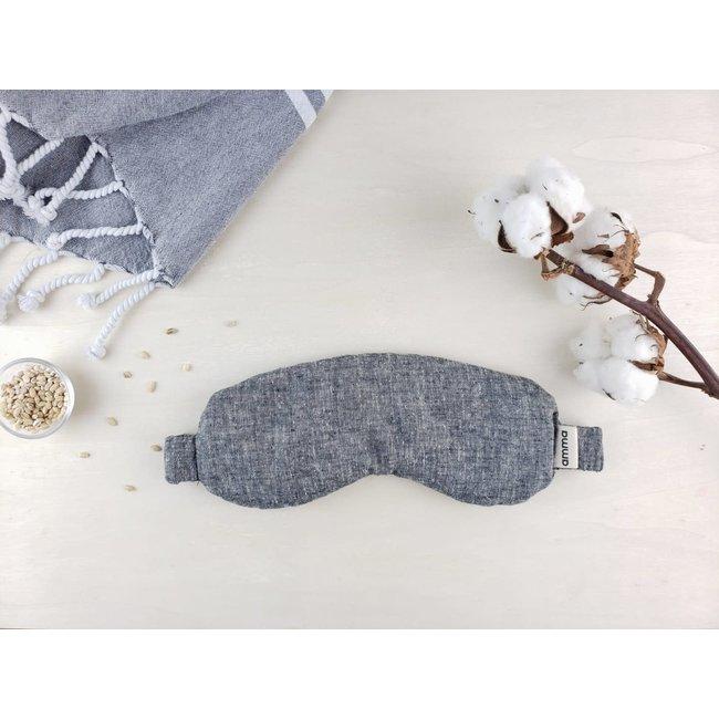 Amma Thérapie Amma Thérapie - Therapeutic Mask with Lavender, Hemp and Gray Organic Cotton
