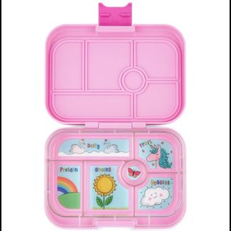 Yumbox Yumbox - Original Bento Box 6 Compartments, Pink Unicorn