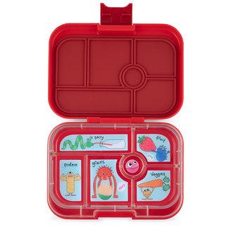 Yumbox Yumbox - Original Bento Box 6 Compartments, Monster Red
