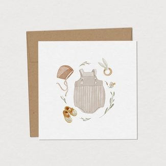 Mimosa Design Mimosa Design - Greeting Card, Newborn Outfit