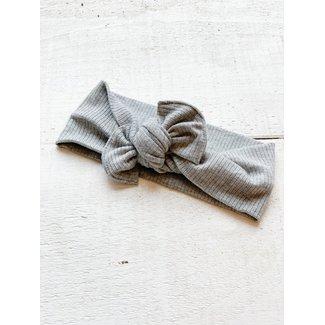 Mini Bretzel Mini Bretzel - Premium Bandana, Textured Grey