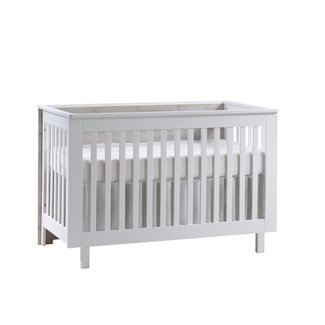 Natart Juvenile Natart Tulip Urban - Convertible Crib and 3 Drawer XL Dresser