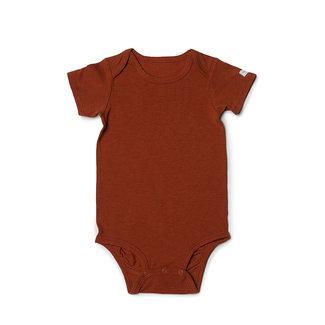 Loulou Lollipop Loulou Lollipop - Short Sleeve Bodysuit, Umbra