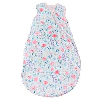 Loulou Lollipop Loulou Lollipop - Bamboo Muslin Sleep Bag, Bluebell