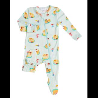 Angel Dear Angel Dear - Pyjama à Pattes à Volants, Crêpes
