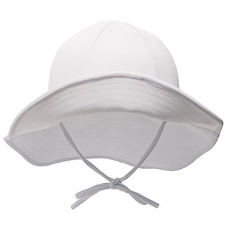 Mase & Hats Mase & Hats - Kids Evolutive Floppy Hat, White