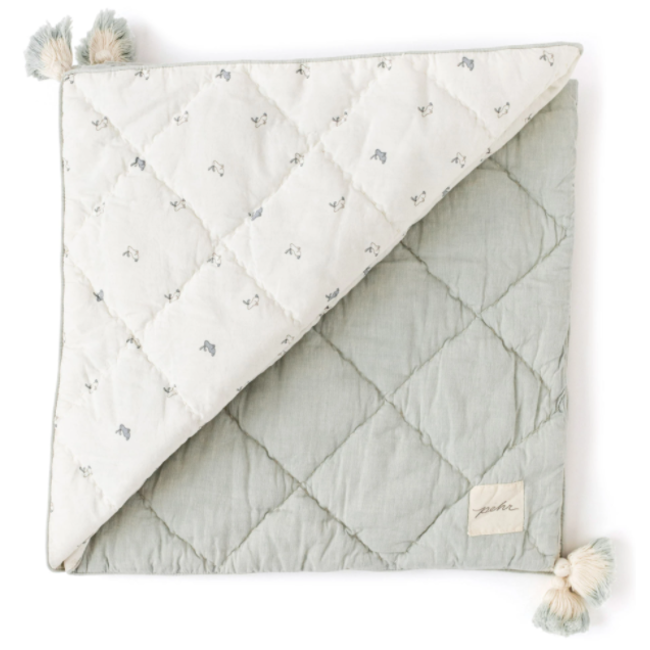 Pehr Pehr - Organic Cotton Blanket, Hatchling Bunnies