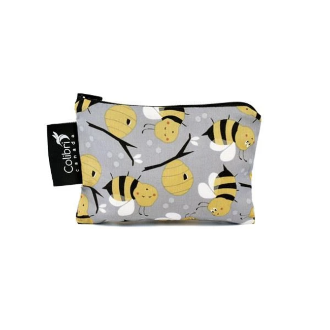 Colibri Colibri - Small Reusable Snack Bag, Bees