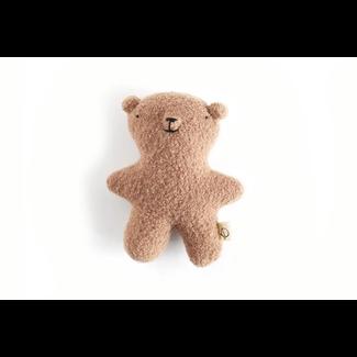Ouistitine Ouistitine - Little Woolen Teddy Bear, Beige
