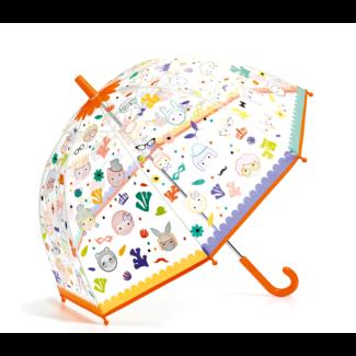 Djeco Djeco - Colour Changing Umbrella, Faces