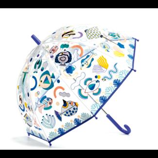 Djeco Djeco - Parapluie Change de Couleur, Poissons