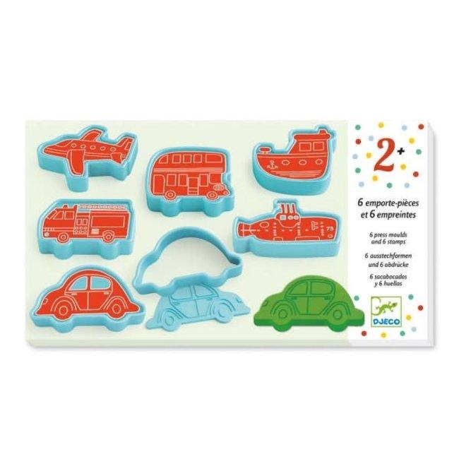 Djeco Djeco - Play Dough Accessories, Transports