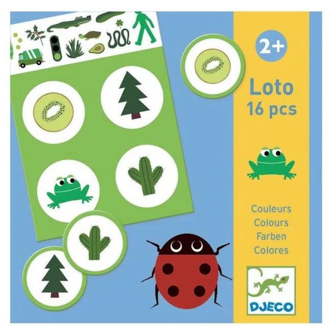 Djeco Djeco - Loto Game, The Colours