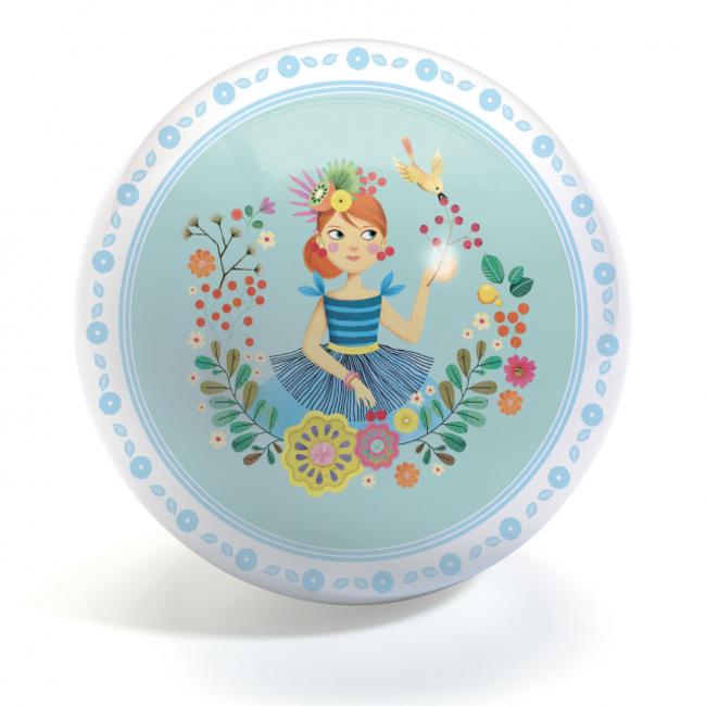 Djeco Djeco - Ballon 22 cm, Mlle Cherry