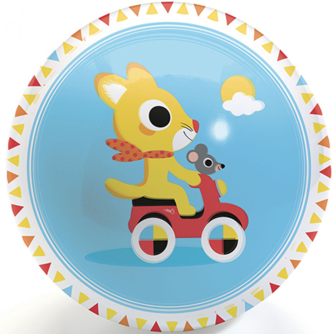 Djeco Djeco - Ballon 12 cm, Mignonne Promenade