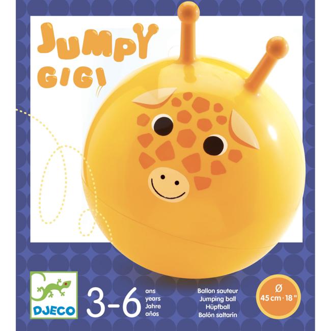 Djeco Djeco - Ballon Sauteur, Jumpy Gigi