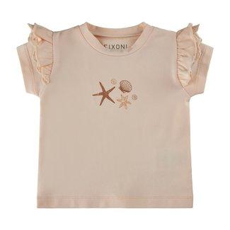 Fixoni Fixoni - T-shirt, Peach