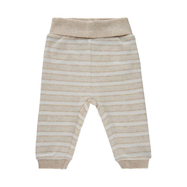 Fixoni Fixoni - Pants, Beige Stripe