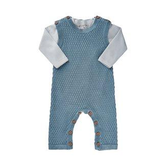 Fixoni Fixoni - Body and Knit Romper Set, Blue