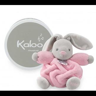 Kaloo Kaloo - Plume Musical Rabbit, Pink