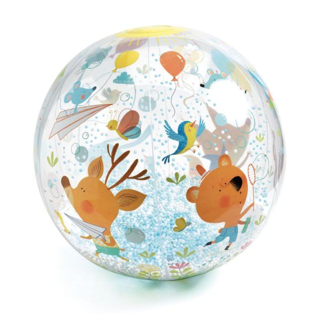 Djeco Djeco - Ballon 35 cm, Animaux