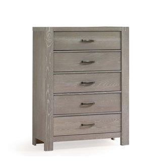 Natart Juvenile Natart Rustico - 5 Drawer Dresser