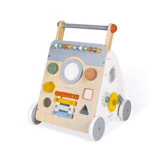Janod Janod -  Wooden Multi-Activity Trolley, Sweet Cocoon