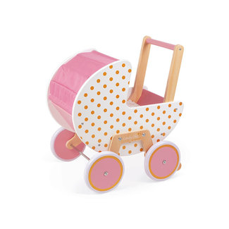 Janod Corolle - Candy Chic Doll Pram