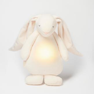 Moonie Moonie - Humming Friend with Night Lamp, Cream Bunny