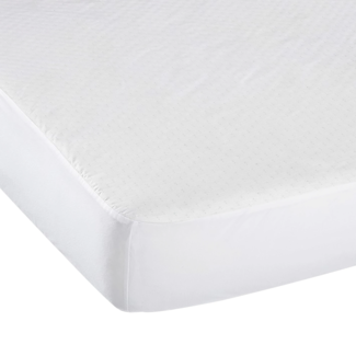 Kushies Kushies - Waterproof Crib Sheet Cover, White