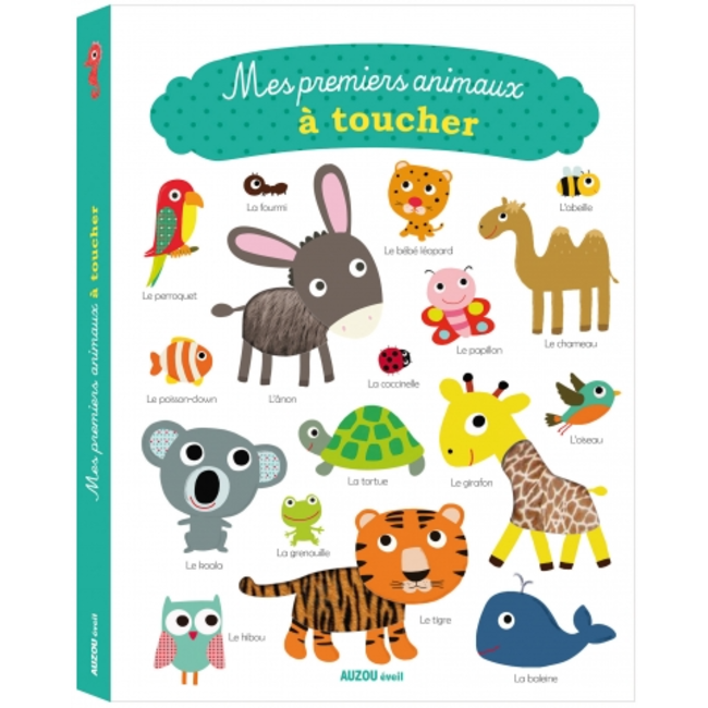 Auzou Auzou - My First Animals Touch Book