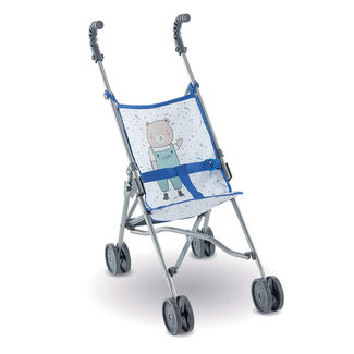 Corolle Corolle - Umbrella Stroller for Doll, Blue