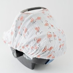 Little Unicorn Little Unicorn - Abri pour Siège de Voiture/Car Seat Canopy, Pink Ladies