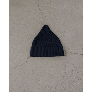 James Street Co James Street Co - Merino Wool Port Beanie, Navy