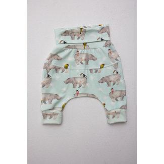 Little Yogi Little Yogi - Evolutive Pants, Hippo