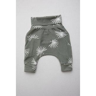 Little Yogi Little Yogi - Evolutive Pants, Palm Leaves