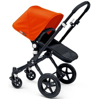 Bugaboo OPEN BOX - Bugaboo Cameleon3 - Extendable Sun Canopy for Stroller, Orange