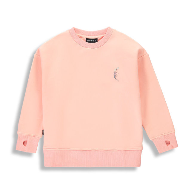 Birdz Children & Co Birdz - Kid Sweater, Tropical Peach