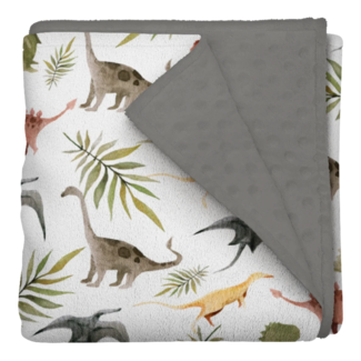 Les Bambins Les Bambins - Minky Blanket, Caleb
