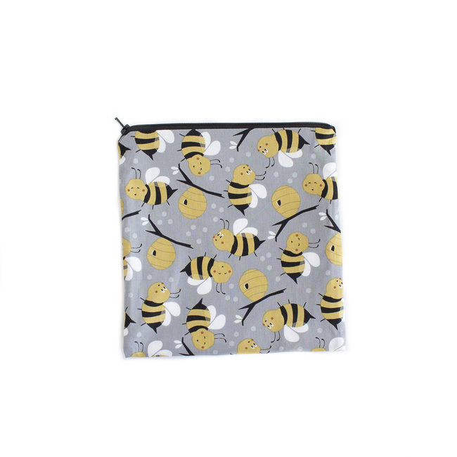 Colibri Colibri - Large Reusable Snack Bag, Bees