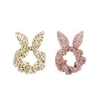 Mimi & Lula Mimi & Lula - Pack of 2 Bunny Scrunchies, Jungle