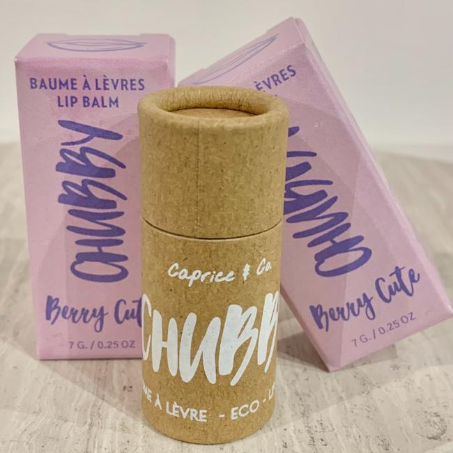Caprice & Co Caprice & Co - Baume à Lèvres Végétalien Compostable,  Jolie Baie