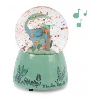 Moulin Roty Moulin Roty - Musical snow Globe, Sous Mon Baobab