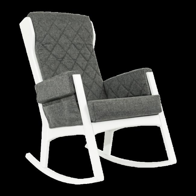 Dutailier Dutailier, Margot - Glider Chair, White Ash Grey, Stock Program