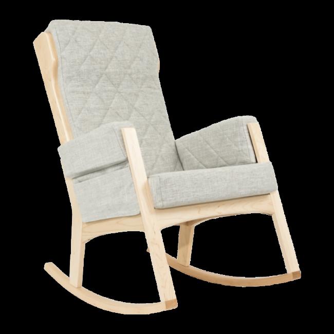 Dutailier Dutailier, Margot - Glider Chair, Natural Popular Grey, Stock Program
