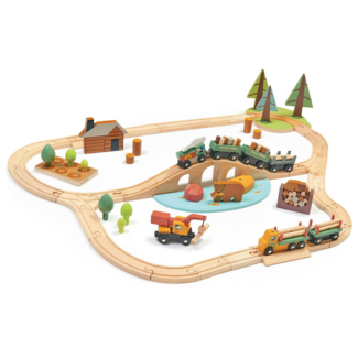 Tender Leaf Toys Tender Leaf Toys -  Ensemble de Train Pins Sauvages