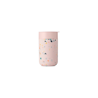 W&P Design W&P Design - Porter Mug 16oz, Terrazzo Blush