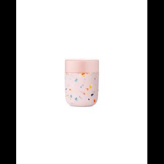 W&P Design W&P Design - Porter Mug 12oz, Terrazzo Blush