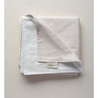 Sauge & Co Sauge & Co - Organic Cotton Blanket, Ivory