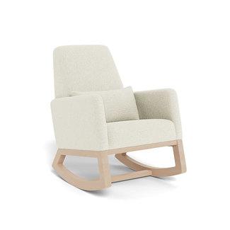 Monte Design Monte - Joya Rocking Chair, Natural Maple Base, Faux Sheepskin